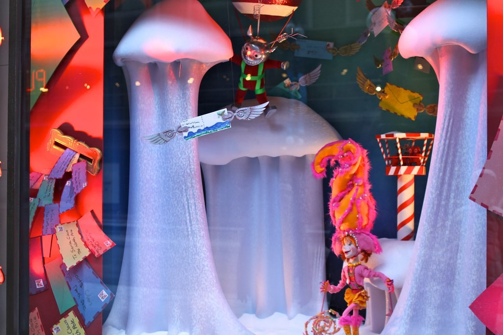State Street Christmas Window