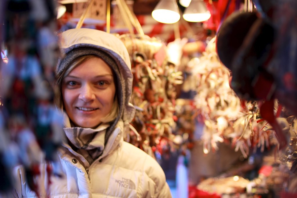 Jaclyn at Christkindlmarket Chicago